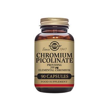 Solgar Chromium Picolinate 200ug 90 veg capsules