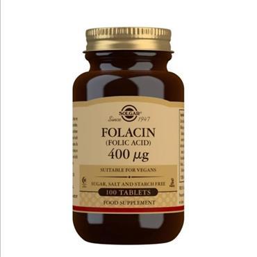 Solgar Folacin (Folic Acid ) 400ug 100 tabs