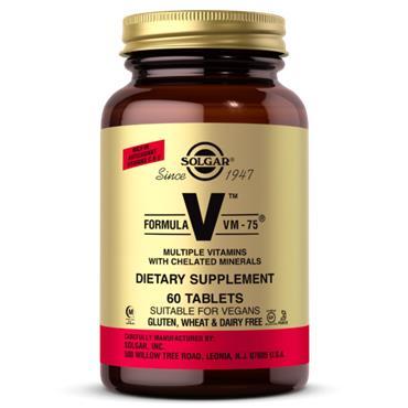 Solgar Formula VM 75 60 vegan tablets