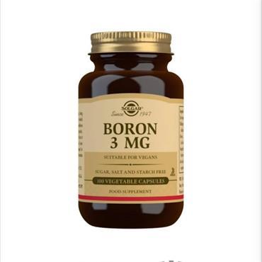 Solgar Boron 3mg 100 veg capsules