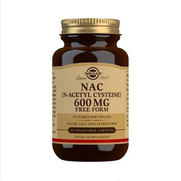 Solgar NAC 600mg Free Form 60 veg tablets