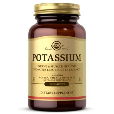 Solgar Potassium 100 vegan tablets