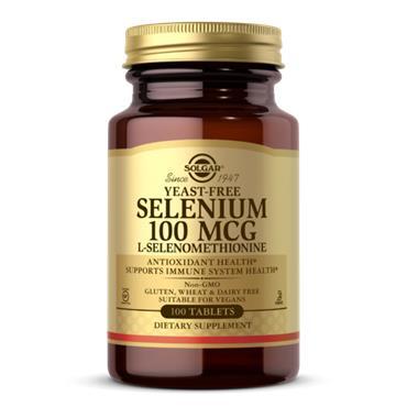 Solgar Selenium Yeast Free 100ug 100 tabs