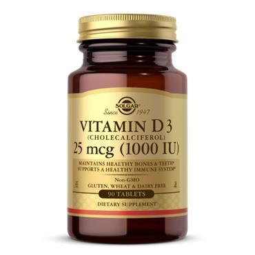 Solgar Vitamin D3 1000IU 90 (veg) tablets
