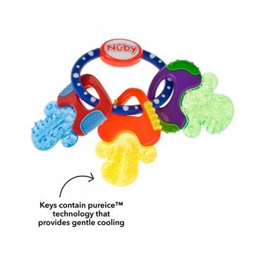 Nuby IceBite Keys 3m+ Teethers