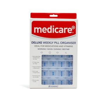 Medicare Deluxe Weekly Pill Organiser