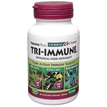 Natures Plus Tri Immune 60 veg tablets