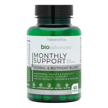 Natures Plus Bioadvance Monthtly Support 60 caps
