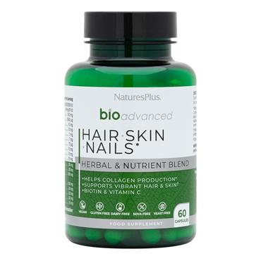 Natures Plus BioAdvance Hair Skin Nails 60 caps