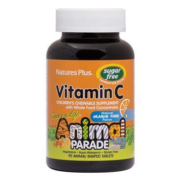Natures Plus Animal Parade Vitamin C (SF) 90 tabs