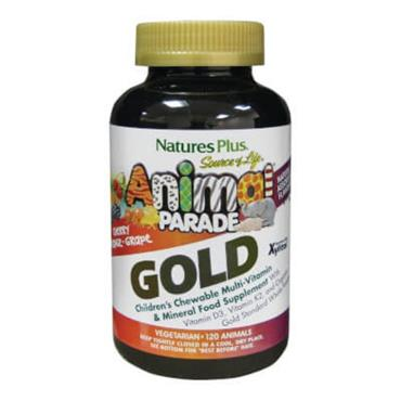 Natures Plus Animal Parade Gold (assorted)120 tabs