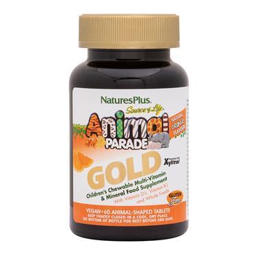 Natures Plus Animal Parade Gold (orange) 60 tabs