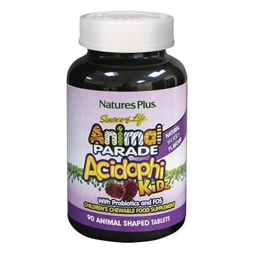 Natures Plus Animal Parade Acidophi Kidz 90 tabs