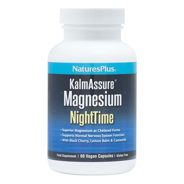 Natures Plus KalmAssure Magnesium NightTime 60 cap