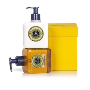 Loccitane Verbena Hand Wash & Lotion set 300ml
