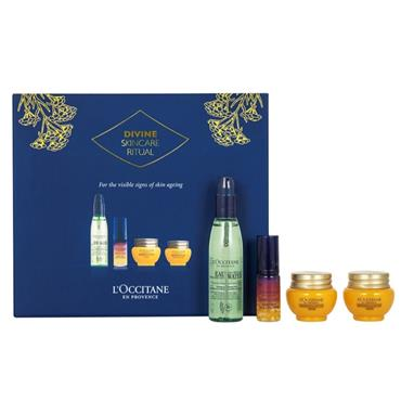 Loccitane Divine Skincare Ritual Set