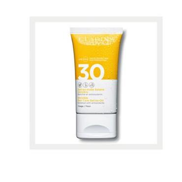 Clarins Sun Care Gel to Oil For Face Spf30