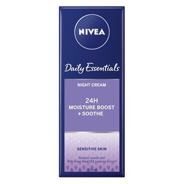 Nivea Daily Essentials Sensitive Night Cream