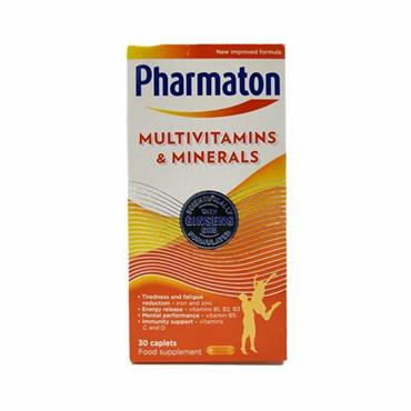 Pharmaton Multivitamins And Mineral Capslets 30