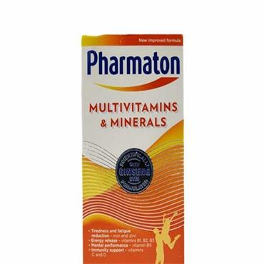 Pharmaton MultiVitamins&Minerals 100 caplets