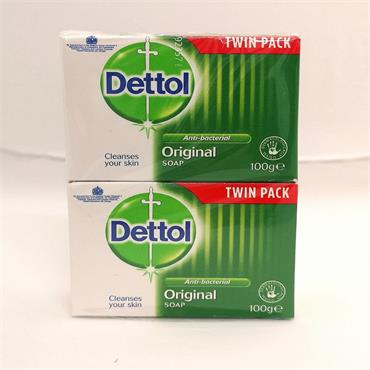 Dettol Soap Twin Pack 100gm x 2