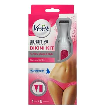 Veet bikini trimmer kit