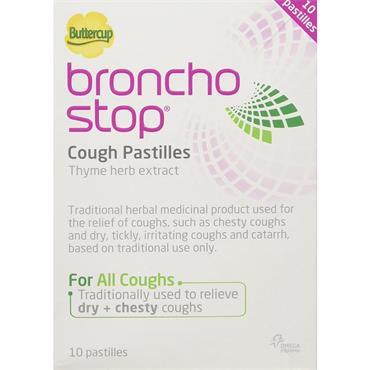 Broncho Stop Berry Flavour Cough Pastilles 10 Pack