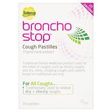 Broncho Stop Berry Flavour Cough Pastilles 20 Pack