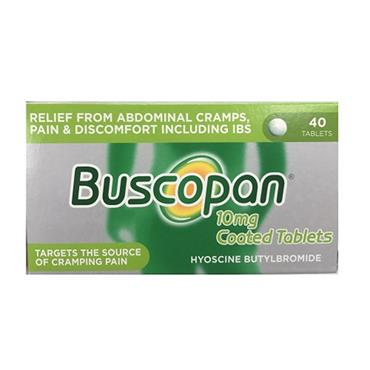 Buscopan 10mg Coated Tablets 40 Pack
