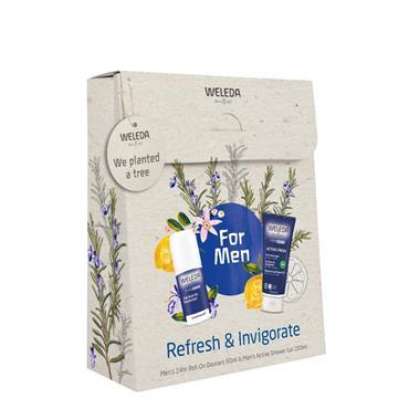 Weleda Mens Refresh&Invigorate Gift Set