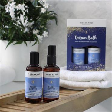 Tisserand Dream Bath Set Sleep Better