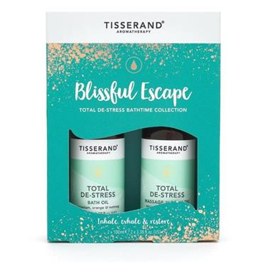 Tisserand Blissful Escape Bath Set De-Stress