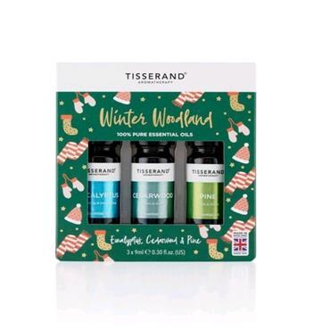 Tisserand Winter Woodland Christmas Oil Set 3x9ml