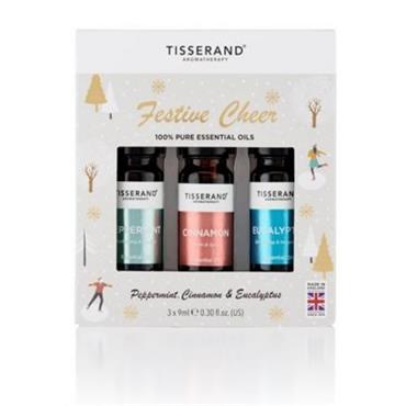 Tisserand Festive Cheer Christmas Oil Set 3x9ml