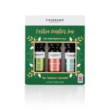 Tisserand Festive Winter Joy Oil Set 3x9ml