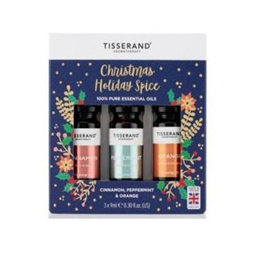 Tisserand Christmas Holiday Spice Oil Set 3x9ml