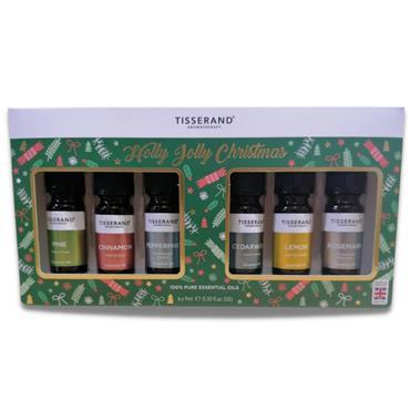Tisserand Holly Jolly Christmas Oil Set 6 X 9ML