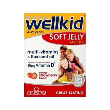 Vitabiotics WellKid Soft Jelly Pastilles Straw 30
