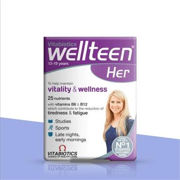 Vitabiotics WellTeen Her 30 Tablets