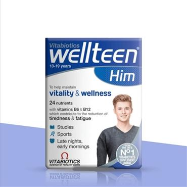 Vitabiotics WellTeen Him 30 Tablets
