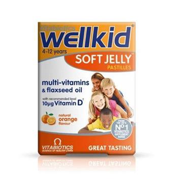 Vitabiotics WellKid Soft Jelly Pastilles Orange 30