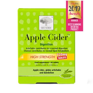 New Nordic Apple Cider High Strength 720mg 60 tabs