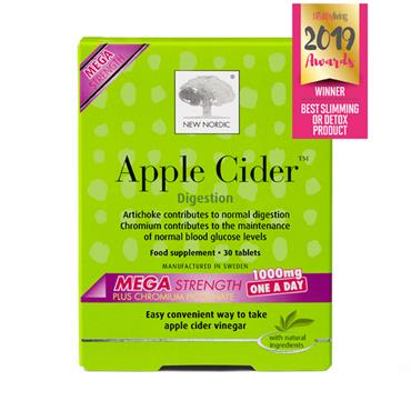 New Nordic Apple Cider Mega Strength 1000mg 30 tab