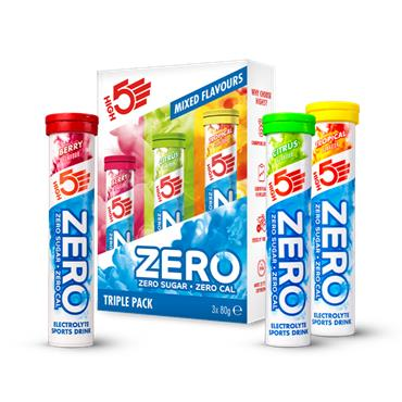 High 5 Zero Triple Pack Mix Flavours 20 tablets