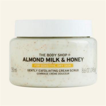 The Body Shop Almond Milk & Honey Cream Scrub 245g