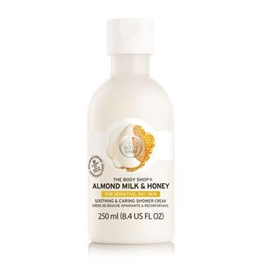 The Body Shop Almond Milk Honey Shower Cream 250ml