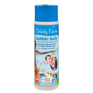 Childs Farm Bubble Bath Organic Raspberry 250ml