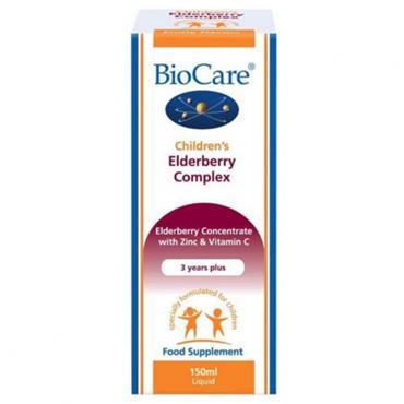 BioCare Childrens Elderberry Complex 150ml