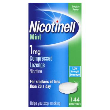 Nicotinell 1mg Nicotine Lozenges 144 Pack