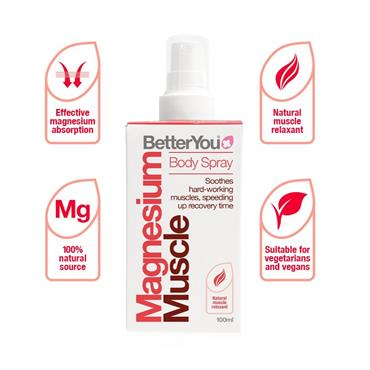 Better You Magnesium Muscle oil 100ml
